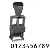 Heavy Duty Self-Inking Numbering Stamp, Product No. 40222