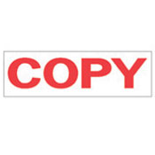 """COPY"" Stock Stamp, Product No. NSN-7520-01-207-4194"