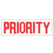 """PRIORITY"" Stock Stamp, Product No. NSN-7520-01-207-4204"