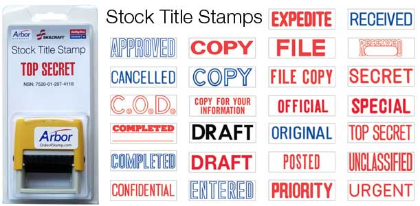 Stock Xstampers